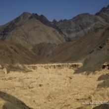 "<span class=""image-name"">Лунный пейзаж около Лама-Юру / Moonland near Lama Yuru</span>"